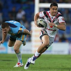 @Shaun_Johnson90 runaway try against the @Gold Coast Titans