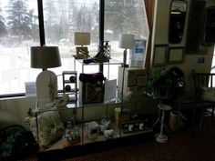 Lamps from $39 5 Drawer Cupboard $69 Mirrors from $49 Antique Chair $129
