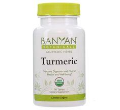 Turmeric tablets