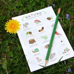 Scavenger Hunt Notepad for Kids