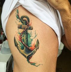 70 Marine Strong Anchor Tattoo Designs and Meaning – Love of The Sea
