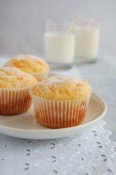 Carrot muffins / Muffins de cenoura by Patricia Scarpin, via Flickr (recipe in portuguese)