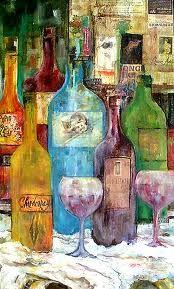 wine art - Google Search #MacGrillHalfPricedWine #MacGrillHalfPriceWine @Macaroni Grill