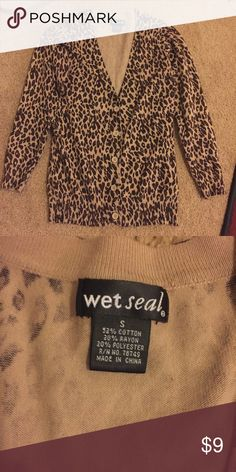 Wet Seal Good condition, Pet Free Home, Smoke Free Home Wet Seal Sweaters Cardigans