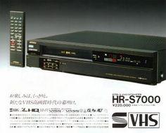 S-VHSビデオデッキ ビクターHR-S7000