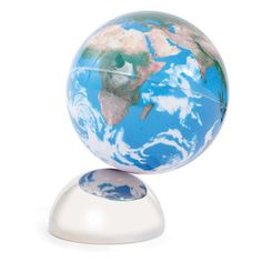 Magnetic Beautiful Earth Globe, $27, now featured on Fab. - Brenna