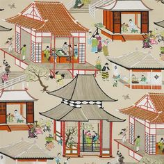 Manuel Canovas fabric Madame Butterfly