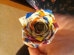 Duck-tape flowers. Great easy craft just to do for fun!