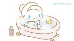 Cinnamoroll (≧∇≦)bath time More