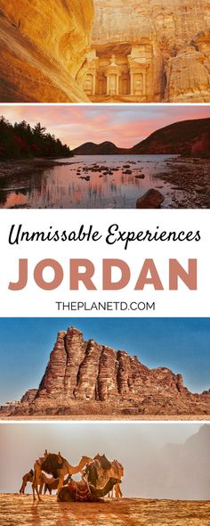 Our top 10 things to do in Jordan that will make you want to pack your travel bags right now. From the awe-inspiring Petra to the metropolis of Amman to the deserts of Wadi Rum, this guide includes experiences that you won't want to miss when visiting this tranquil gem of the Middle East + practical tips for your trip.   Blog by the Planet D #Jordan #MiddleEast