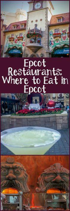 AD #disney #familytravel #epcot Epcot Restaurants: Where to Eat in Epcot - Family Travel Magazine