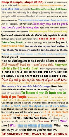 42 Motivational Recovery Sayings and Slogans