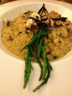 Couscous con vongole e funghi - Bistrot 64 - Rome