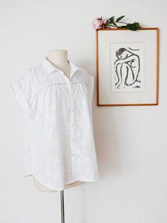 blouse pivoine de Delphine et Morissette
