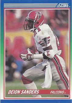 Deion Sanders Football Trading Card Score by FloridaFindersSports, $2.00