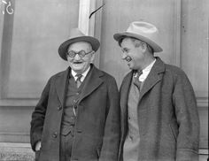 Will Rogers, right, and W. Waggoner, at Arlington Downs racetrack, October 1933 October 19, Dallas, Nostalgia, The Originals