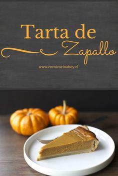 :) Tarta de zapallo dulce o pie de calabaza. Receta tradicional para Acción de Gracias.   Más en https://lomejordelaweb.e