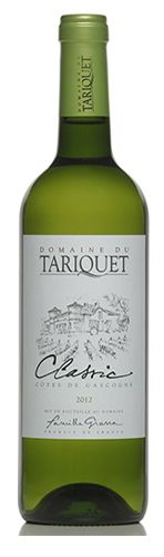 Tariquet Classic - same grapes as cognac. good w/ seafood. very smooth. wine club 4.2014