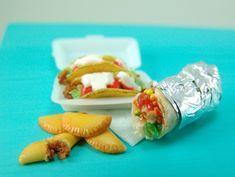 Dollhouse Miniature Mexican Food Tutorial- Miniature Food Tutorial eBook - Cooking School Series