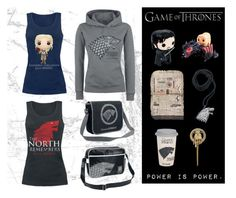 """""""Game of Thrones Collection"""" by empuk ❤ liked on Polyvore featuring Funko, television and GameOfThrones"""