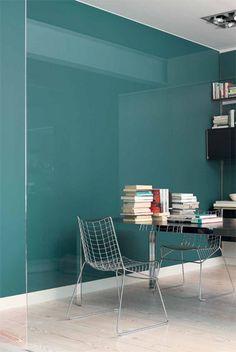 1000 images about teal kleur jaar 2014 verf wand on pinterest teal wands and van - Kleur trend salon ...