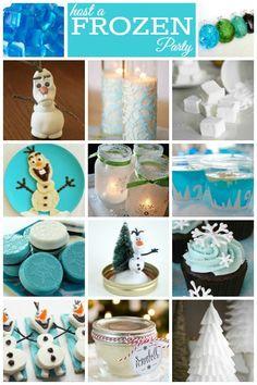 Disney Frozen Birthday Party Ideas - Housing a Forest