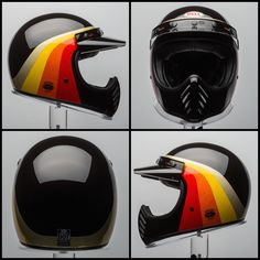 Chemical Candy Customs & Cody Biggs Have Teamed Up To Paint A Limited Run Of 10 Custom Lids. These Tattooed Lids Were Painted With A Sharpi. Retro Motorcycle Helmets, Bobber Motorcycle, Riding Helmets, Motorcycles, Ducati Monster, Royal Enfield, Motocross, Bell Moto 3, Agv Helmets