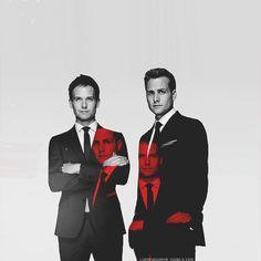 Patrick Adams & Gabriel Macht ~ I love Suits!