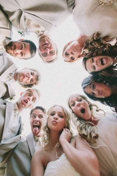 Creative Wedding Photo Ideas And Poses ❤ See more: http://www.weddingforward.com/creative-wedding-photo-ideas-poses/ #weddings