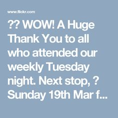 ❤️ WOW! A Huge Thank You to all who attended our weekly Tuesday night. Next stop,  Sunday 19th Mar for our weekly Sensual Sunday Kizomba and Bachata night. ❤️Come on down and join us for Another Great Night Out. ✔️ Everyone is welcome No partner required. ★ 2 levels of Kizomba @ 6.30pm. ★ 3 levels of Bachata @ 7.30pm. ★ PartyTime until Midnight to the best tunes in Bachata & Kizomba! ★ Wimbledon station Bus, Train, Tram, Tube ,1 min walk. ★ Free parking after 6pm in Morrisons, 1 min walk.