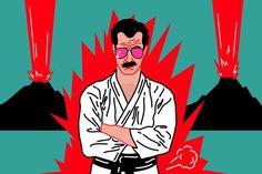 Kung Fu, Daddy, Batman, Superhero, Illustrations, Fictional Characters, Instagram, Art, Art Background