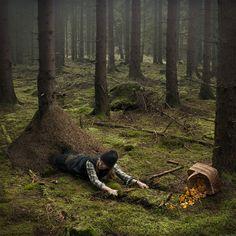 The work of Surreal Photographer Erik Johansson