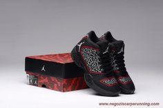 scarpe da ginnastica Uomo-Donna Air Jordan XX9 Nero/Rosso 595515-023 Burst