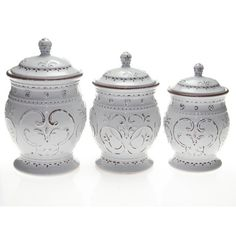 Certified International Romanesque Canister by Karidesign
