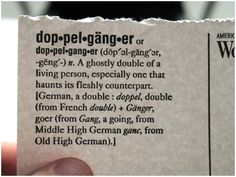 the word doppelganger - Google Search