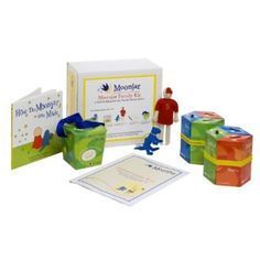 Moonjar Moneyboxes for teaching kids about money and budgeting