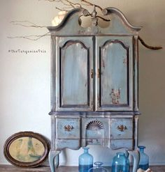 """Gorgeous """"french country"""" armoire by The Turquoise Iris"""