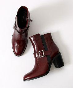【セール】レザーショートブーツ(ブーツ)|Devinette(ドゥヴィネット)のファッション通販 - ZOZOTOWN