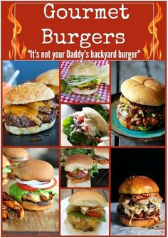 My Business - Burger Recipes : 12 Gourmet Show Stoppers