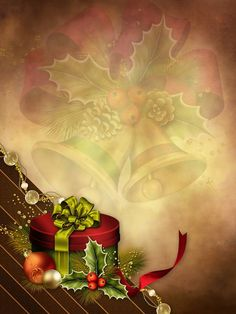 Image with Christmas motif for cell phone background - Michelle Gaines Christmas Scenes, Christmas Art, Christmas Decorations, Xmas, Christmas Background, Christmas Wallpaper, Mery Chrismas, Wallpaper Nature Flowers, Advent