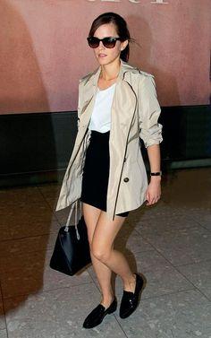 EMMA-WATSON-in Winser London trench coat