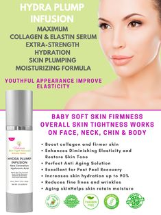 I was ready to give up on my damaged, wrinkly skin. After spending years in the sun, I thought my skin would never look smooth again until I learned about the many hyaluronic acid serum benefits which helped me discover a way to repair my crepey, wrinkly skin. Yes, I struggled just like you! My skin complexion was uneven, I had fine lines and wrinkles around my eyes and mouth and I was starting to get crepey skin under my eyes and lots of dark spots.  #hyaluronicacid #crepeyskin #wrinkles Wrinkle Remedies, Cellulite Remedies, Skin Tightening Cream, Skin Firming, Crepe Skin, Tighten Loose Skin, Sagging Skin, Wrinkle Remover, Prevent Wrinkles