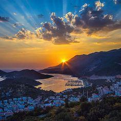 Sunset over Kas, #Turkey