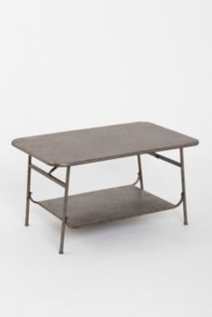 Factory Coffee Table in Zinc