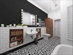 Casas de banho ecléticas por OHlala Wnętrza