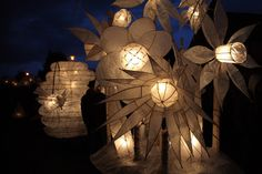 making paper and willow lanterns - Google Search
