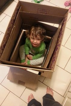 A new use for @FreshDirect boxes