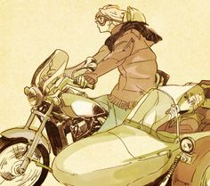 Cute Honda by にそ - Hetalia - America / England