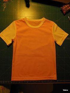 f9c3f33237aa Tafana  Dětské tričko - postup pro úplné začátečníky. Marie Zavodska · Šití  pro děti