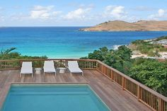 Villa Camalie in St Barts a stunning 3 bedroom villa located close to the beautiful Flamands Beach in St Barths